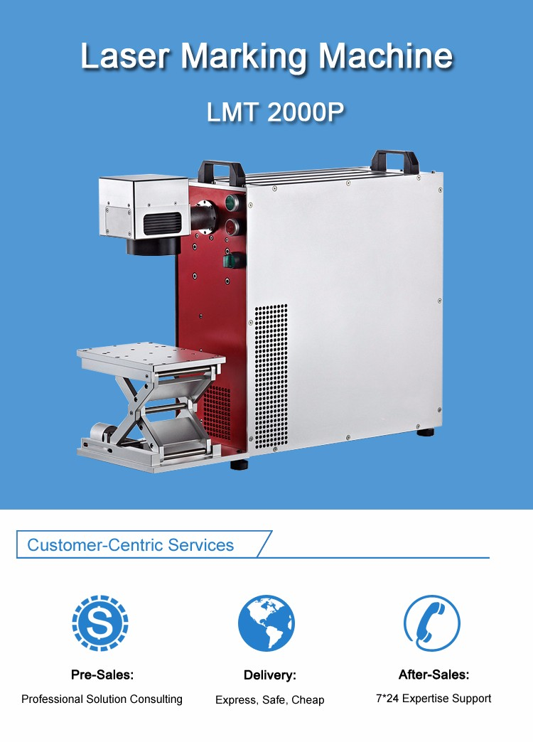 Diode Laser Marking Machine on Medical Equipment