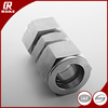 silvering stainless steel 316 Instrument fittings pipe fittings for tube connect