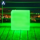 Chargeable DC5V 2A electric waterproof water lights large light cube