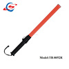 length 52cm 6pcs red leds road safety Cheap security traffic baton