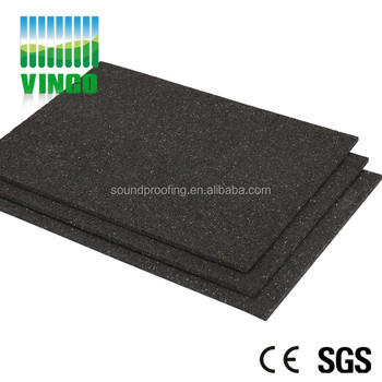 5mm good price rubber shock damping floor mat black rubber foam flooring for boats