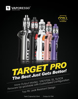 100% Original 2.5ml 75W Vaporesso TARGET Pro VTC Kit With cCELL Tank
