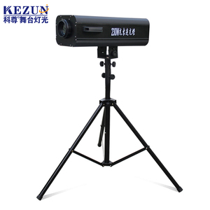 LED stage profile spotlight/ Wedding used LED follow spot light/ DJ events light