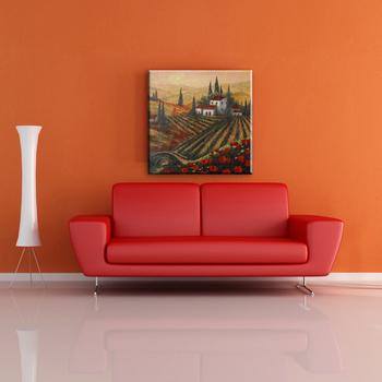 European Style Beautiful Scenery Wall Art Easy Landscape Painting ...
