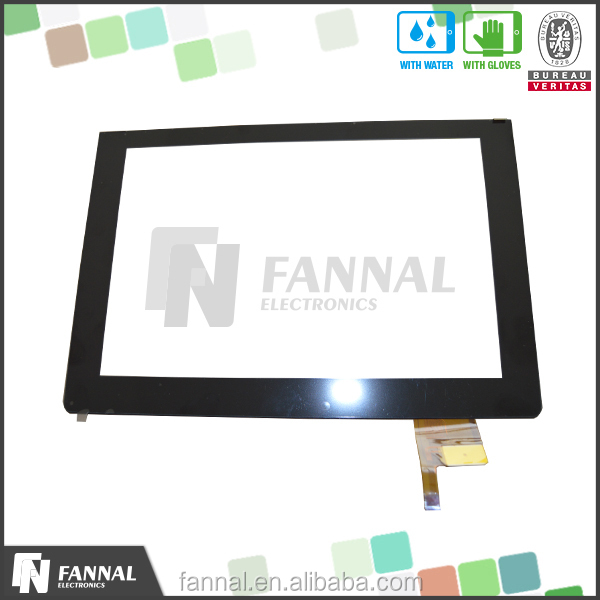 OEM touch screen 27.0 inch support USB/IIC/RS232 interface G+G structure water/oil/dust proof