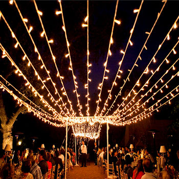 Outdoor Connectable Large Net Lights Warm White Ceiling Led Fairy Canopy