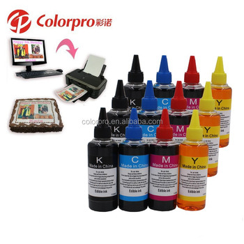 100ml Food Grade Ink Edible Ink For Epson Printer,Use For Cake - Buy ...