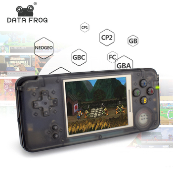3647c13baee Data Frog Retro Handheld Game Console 3 Inch Console Built-in 3000  Different Games Support