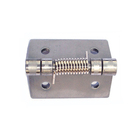 Metal Hinge Door Metal Hinges For Door Heavy Duty Stainless Steel 304 Metal Spring Hinge 50x50 For Cabinet Door