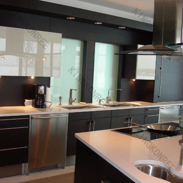 Ponished Sparkle Artificial Stone Kitchen