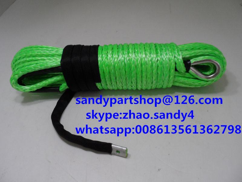11 мм * 30 m синтетический лебедка кабель, Кабель лебедка для бездорожья, Лебедки для автоматический запчасти