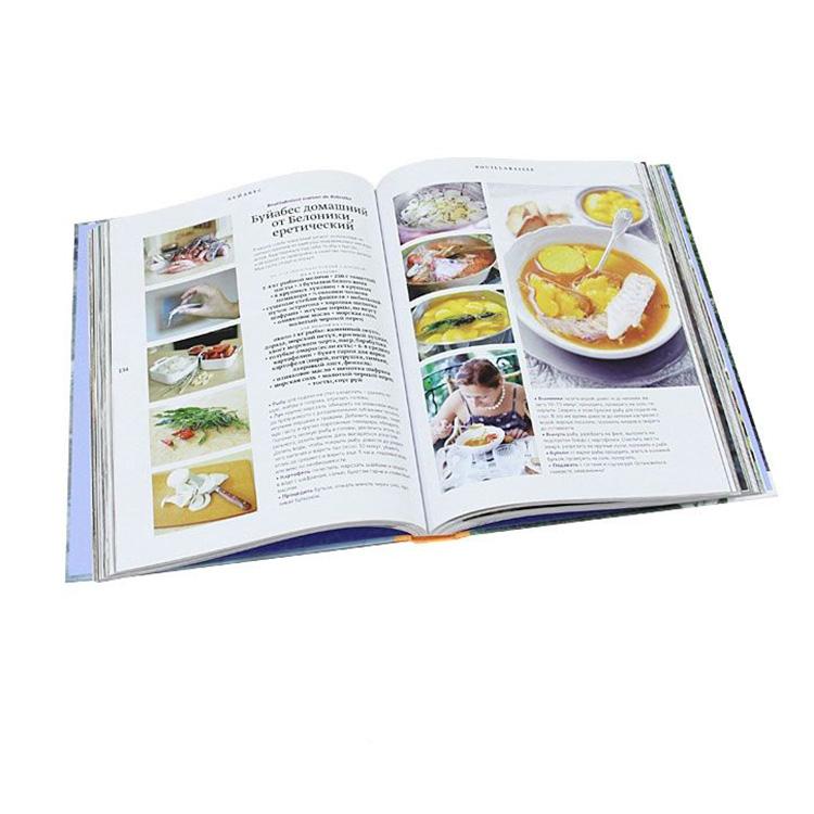 Cheap Bulk Magazines Fashion Pantone color Printing Catalog Cooking Book Wholesale