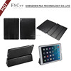 3 folds stand transformers pasted PU leather flip tablet cases for ipad pro 9.7 PC back base full protector tablet