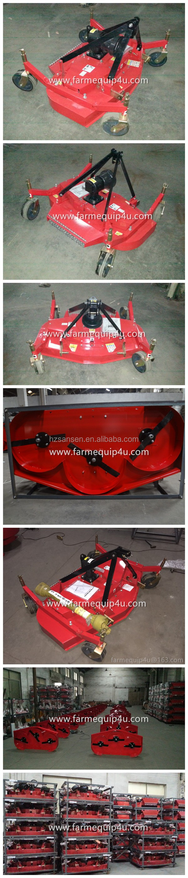 3point hitch finishing mower for tractors