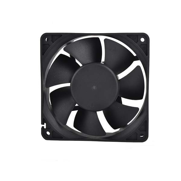 large air flow low voltage fan 12v ventilator 120*120*38mm