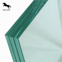 4mm 10mm 12mm Tempered/Toughened Fusing Glass