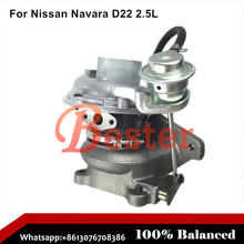 14411MB40B 14411-MB40C 14411MB40C turbocharger for Nissan Navara D22 2.5L Common Rail 2.5L 2488 ccm 110 HP