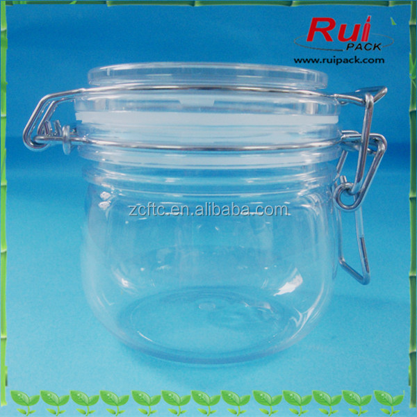 220ml clear PET sealed jar, facial mask tank, hand wax bottle, cosmetic cream container