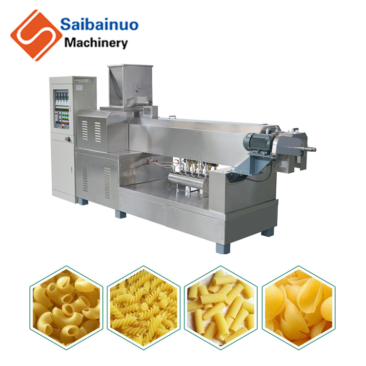 Multifunktionale makkaroni pasta making machine/produktionslinie