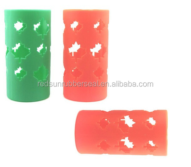 customized design silicone rubber sleeve
