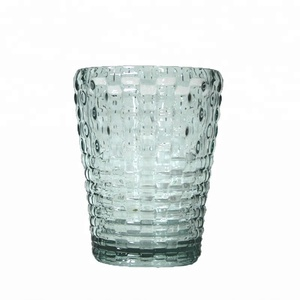 Factory Price Custom Acrylic Plastic Cup Crystal Cocktail Bubble Tea Glass Cups