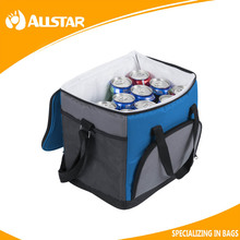 Portable canvas thermal insulated water drink cooler bag
