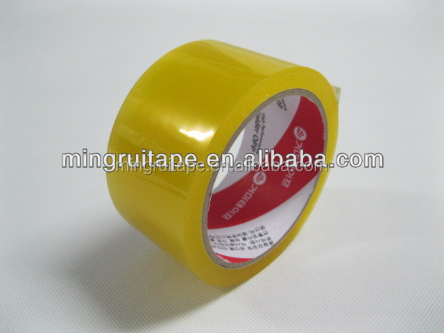 Waterproof Feature and BOPP Material 1280mmX4000mX45mic Self adhesive bopp tape