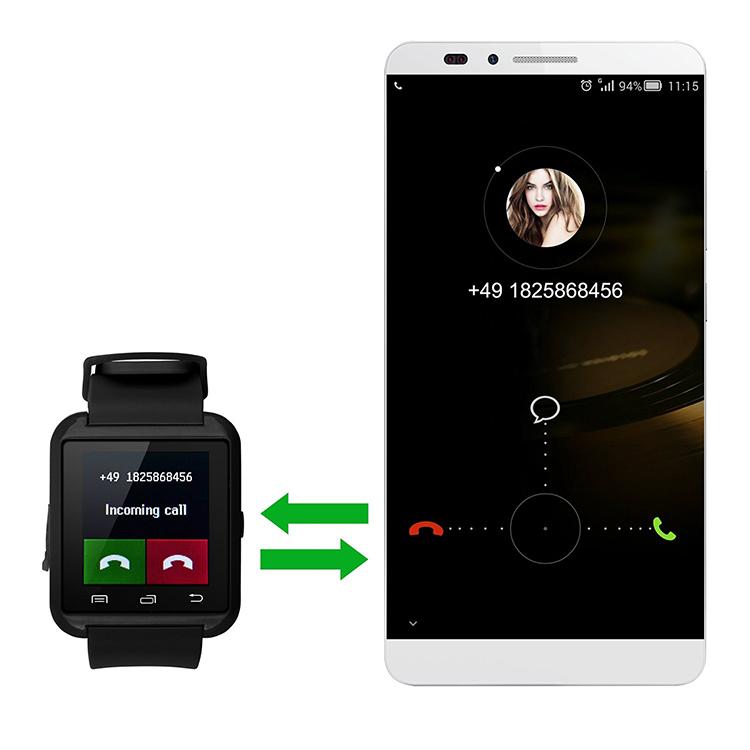 Promoção de Fábrica Barato U8 U8 Android Relógio Inteligente relógio de Pulso Do Esporte