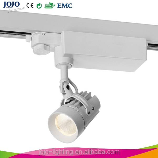 high power led movable track lighting 7W CE LED track lighting