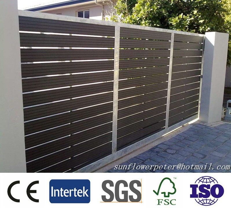 Popular in europe wpc fence, wpc privacy fence, fence wpc weather resistant