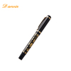 New Design Customized Stationery Premium Metal Black Best Ink Fountain Pen
