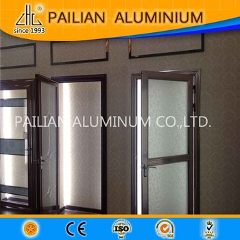 Korea waterproof aluminum bathroom doors design,Aluminium Alloy Swing Bathroom Glass Door,Interior aluminium bathroom doors