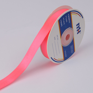 "5/8"" Double Sided Poly Silk Satin Ribbon"