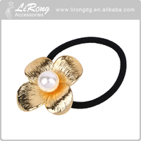 Alloy Metal round elastic Hair Band