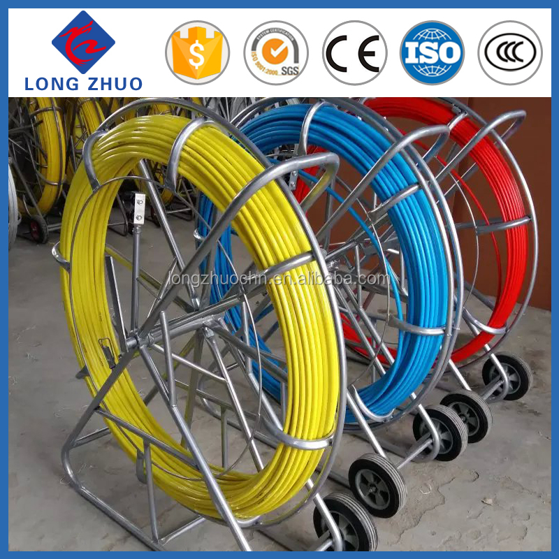 Fiberglass Cable Roller Laying Tools & Cable Push Pull Rod & Cable Laying Equipment