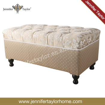 Modern Piano Bench Button Tufted Shoe Storage Bench, Large
