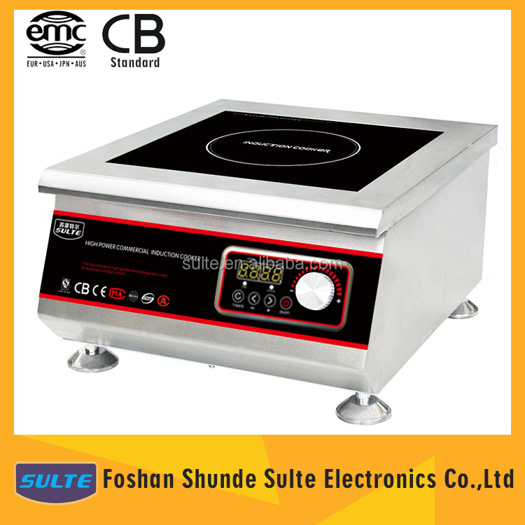 FREE Kitchen Appliance 5000W GS Induction Cooker For Commercial Use