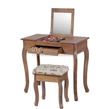 Wholesale cheap price wooden dressing table furniture for Cheap dressing table
