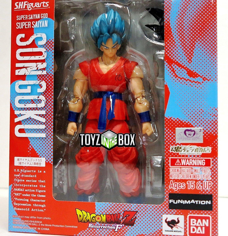 Dragon Ball Z Blue Super Saiyan God Son Goku Golden Freeza Action Figures SSGSS