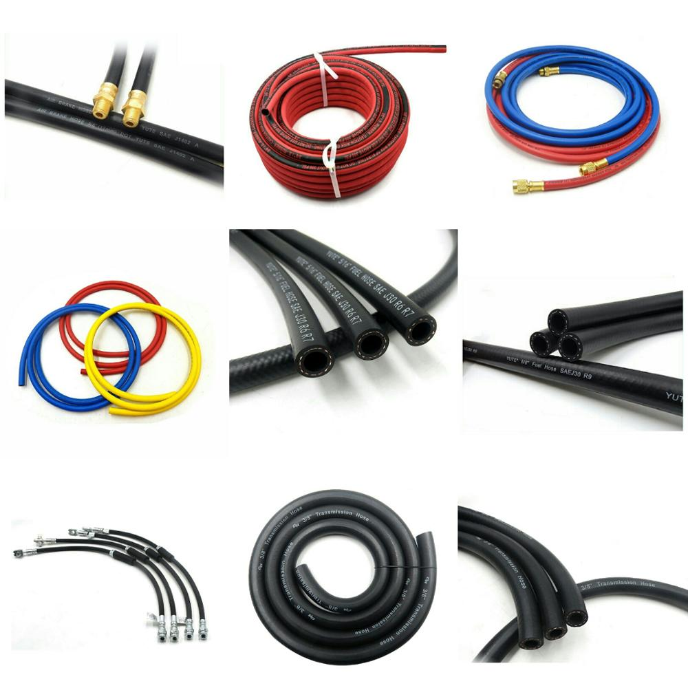"5/16"" inch oil resistant rubber braided fuel hose for fuel dispenser"