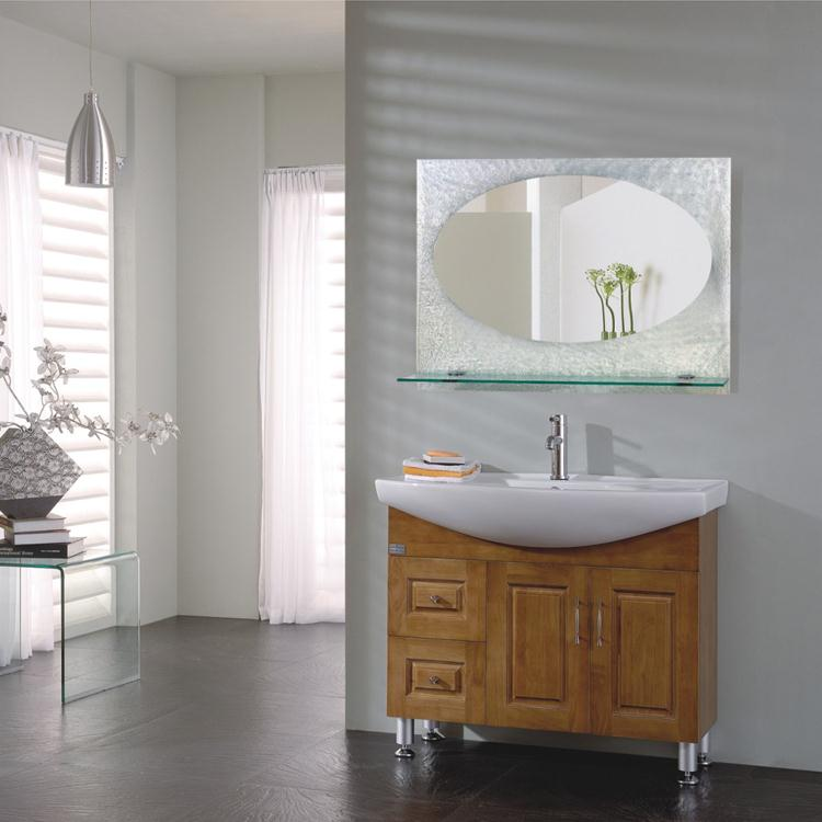 venta caliente ronda moderno cuarto de bao espejo con luz led espejo de pared de