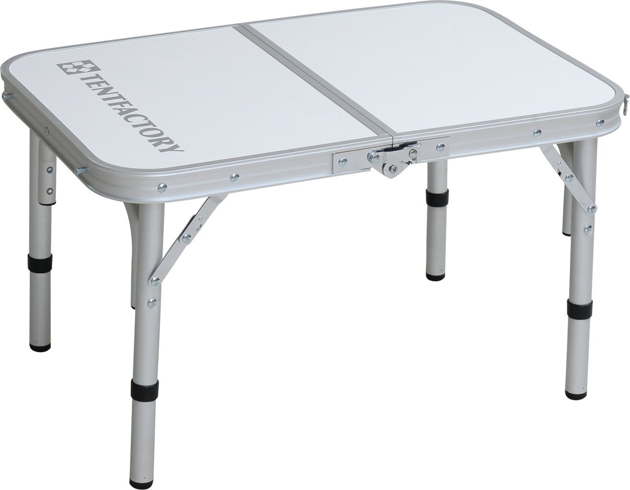 TENT FACTORY (tent factory) dual folding table 6040M White 60 ~ 40 ~ 35 (25) cm TF-DFT6040M-WH