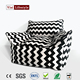 2017 Visi black white wave bean bag armchair sofa best quality