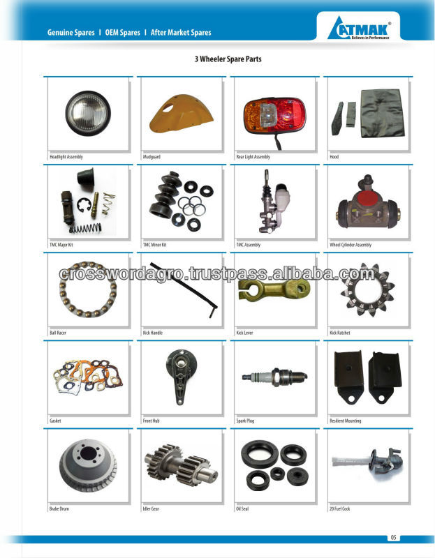 Three Wheeler Spare Parts To Nigeria, Three Wheeler Spare Parts To ...