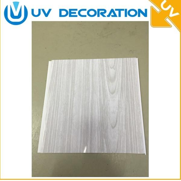 impermeable y resistente al fuego de plstico pvc panel de pared para la cocina y el