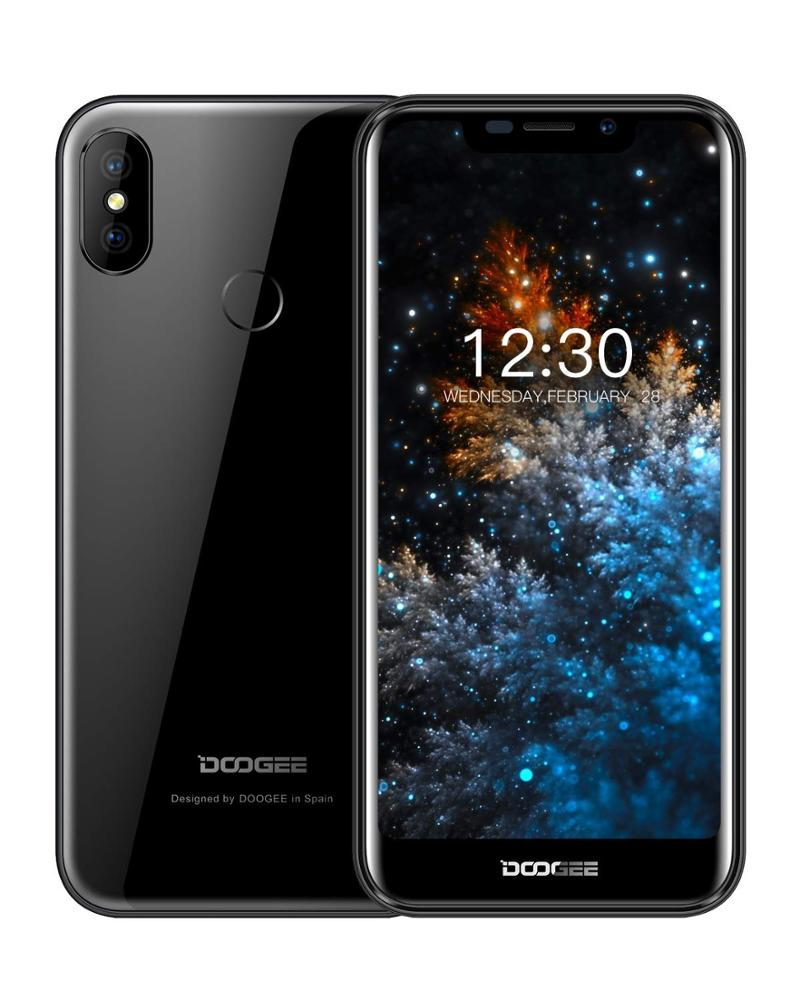 DOOGEE X70 Dual Sim Free Smartphones Unlocked 5.5'' 19:9 Notch IPS Display, 4000mAh Battery 8.1 Android Phones 2GB+16GB, 8MP+5MP