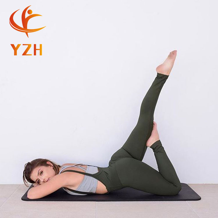 Nouveau Design sport pantalon sexy noir vêtements de yoga leggings