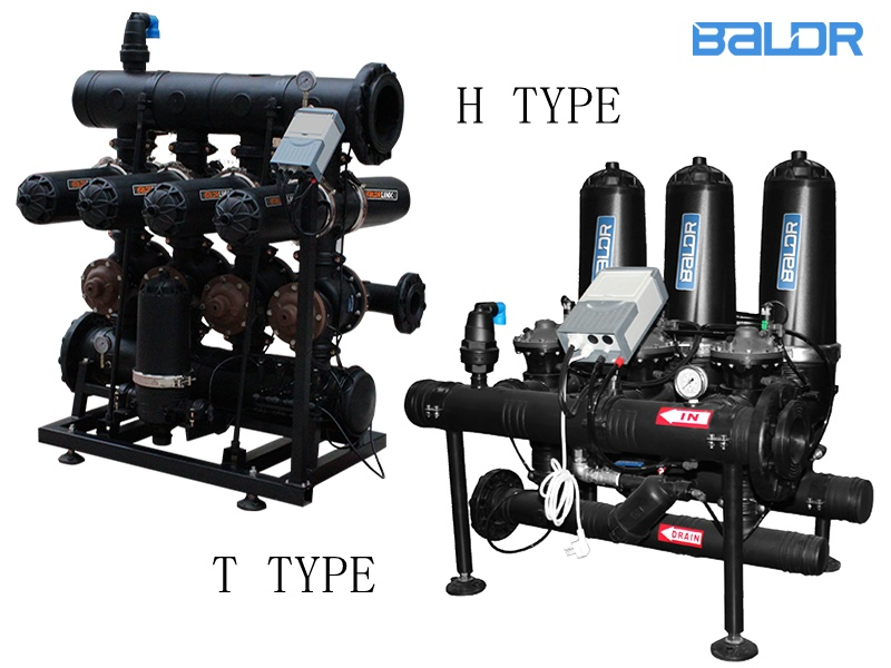 Modular design drip irrigation Auto Disc Filtration System
