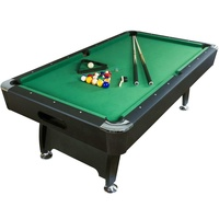 most popular 7 ft 8 ft Billiard Table easy assembly 8 ball pool table with green/blue cloth
