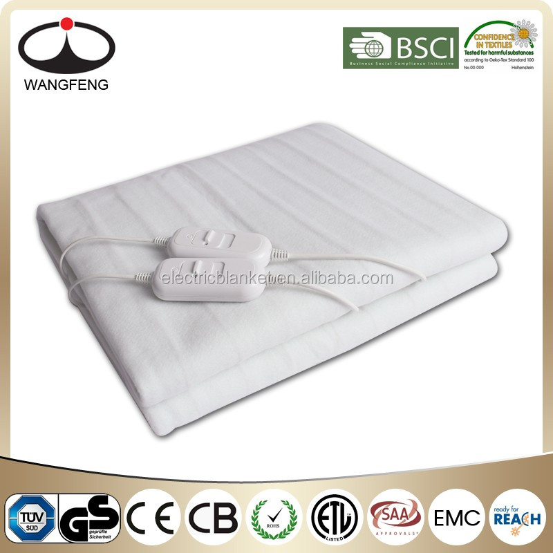Fitted Electric Blanket - Queen Machine washable with 3 different heat settings